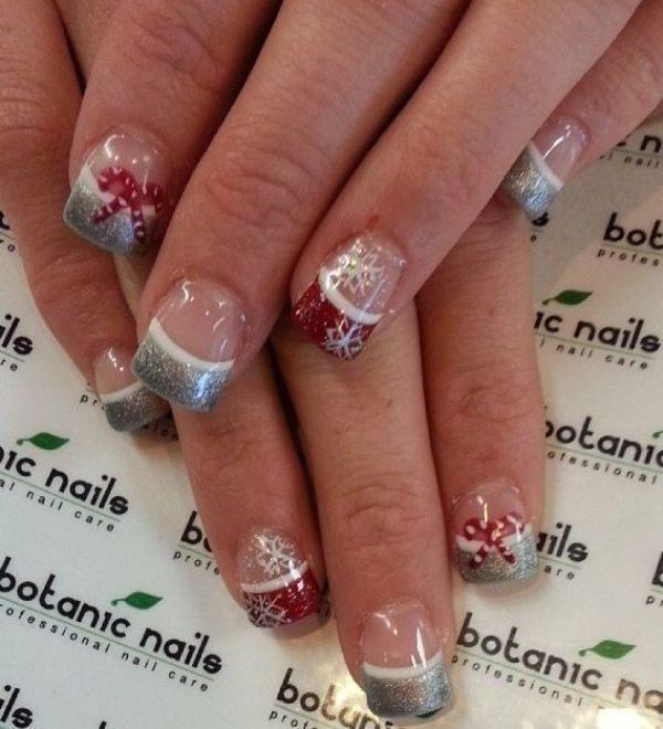 awesome christmas nail art design