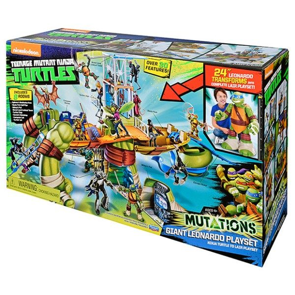 Turtles-Giant-Leo-Playset 20 Must Have Christmas Toys for Children 2017