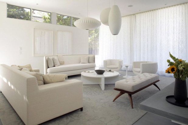 All-White-Furniture3 +20 Most Creative Designs For Living Rooms