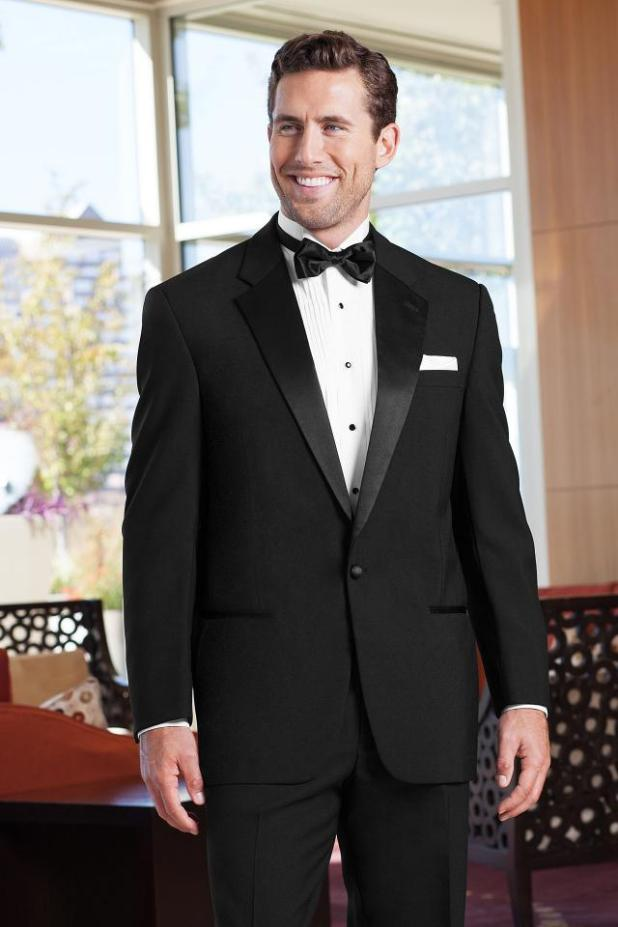 Classic-Black-Tuxedo2 6 Trendy Weddings Outfit Ideas for Men