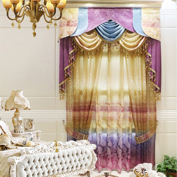 New-Arrival-Colorful-Cartoon-font-b-Rainbow-b-font-Blackout-font-b-Curtains-b-font-for 5 Stylish Bedroom Designs For Your Comfort