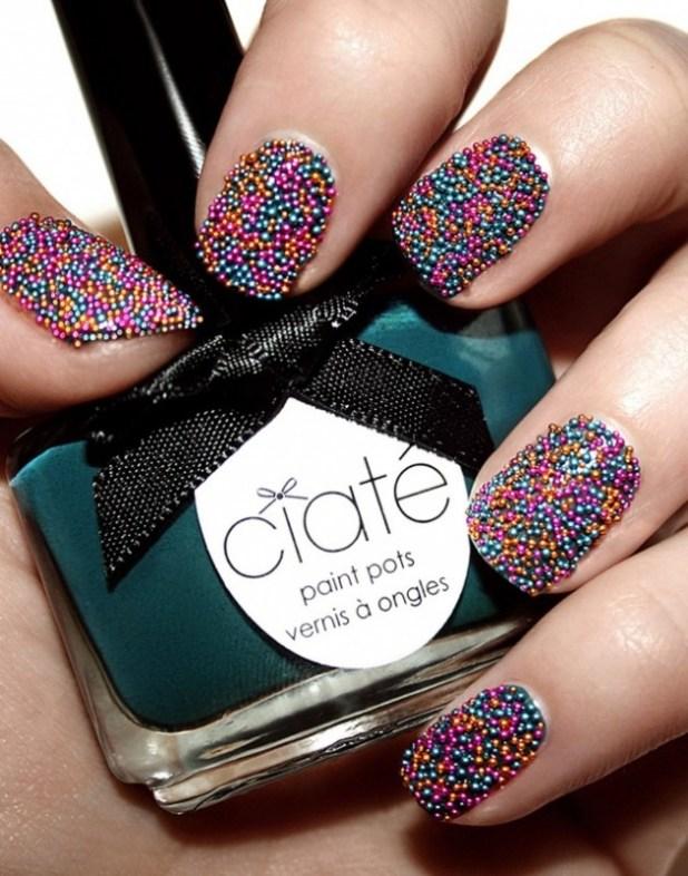caviar-nail-polish3 The Easiest Way to Apply Caviar Manicure
