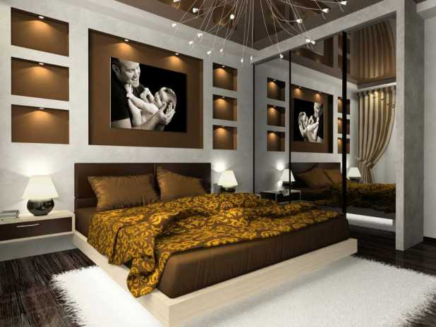 great-beautiful-bedroom-decor-by-beautiful-bedroom-design-ideas-bed-brown-and-white-color-mirror-layout-for-small-bedroom-wall-bedroom-decor-ideas-brown-and-white-for-bedroom-color 5 Stylish Bedroom Designs For Your Comfort