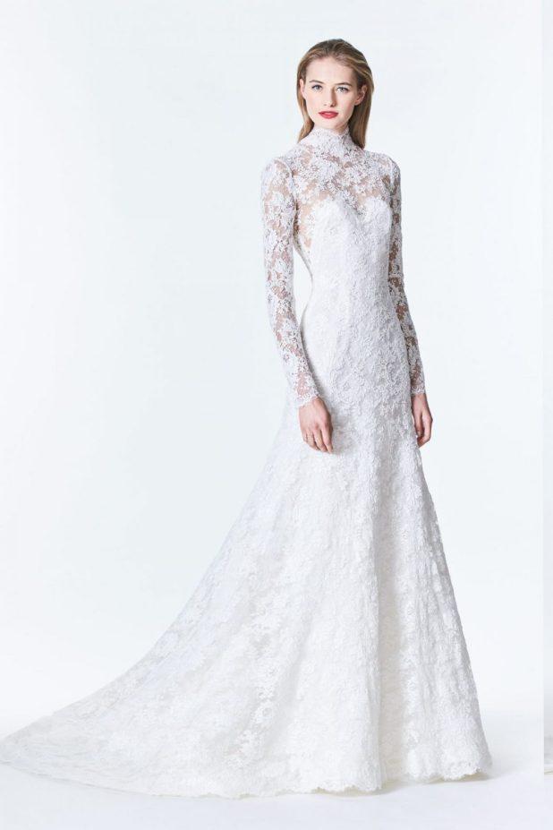 Carolina-Herrera-dress-675x1013 2017 Wedding dresses Trends for a Gorgeous-looking Bride