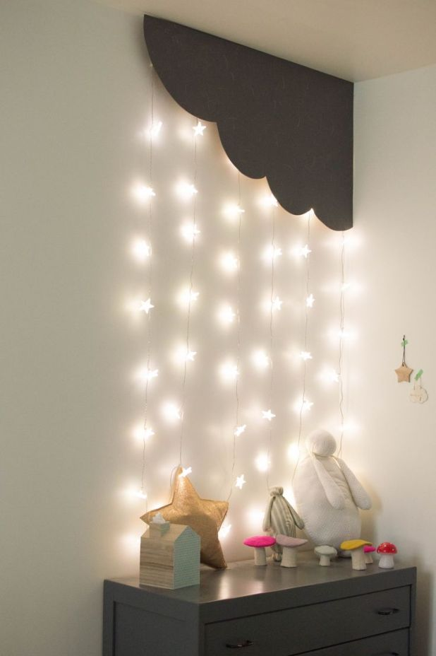 Cornered-cloud-and-stars-lighting4-675x1014 20+ Ceiling Lamp Ideas for Kids' Rooms in 2017