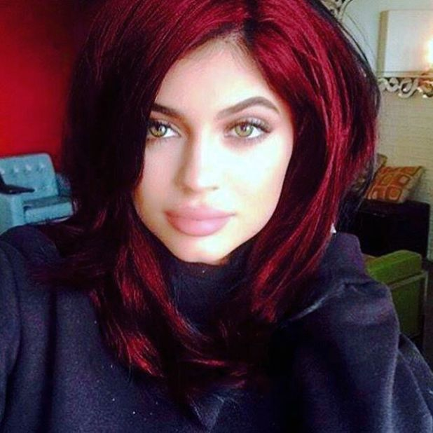 Kylie-Jenner 15+ Fashionable Tremendous Celebrities' Hairstyles