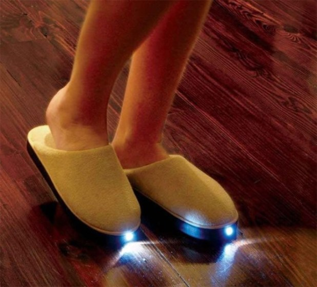LED-slippers 39 Most Stunning Christmas Gifts for Teens 2017