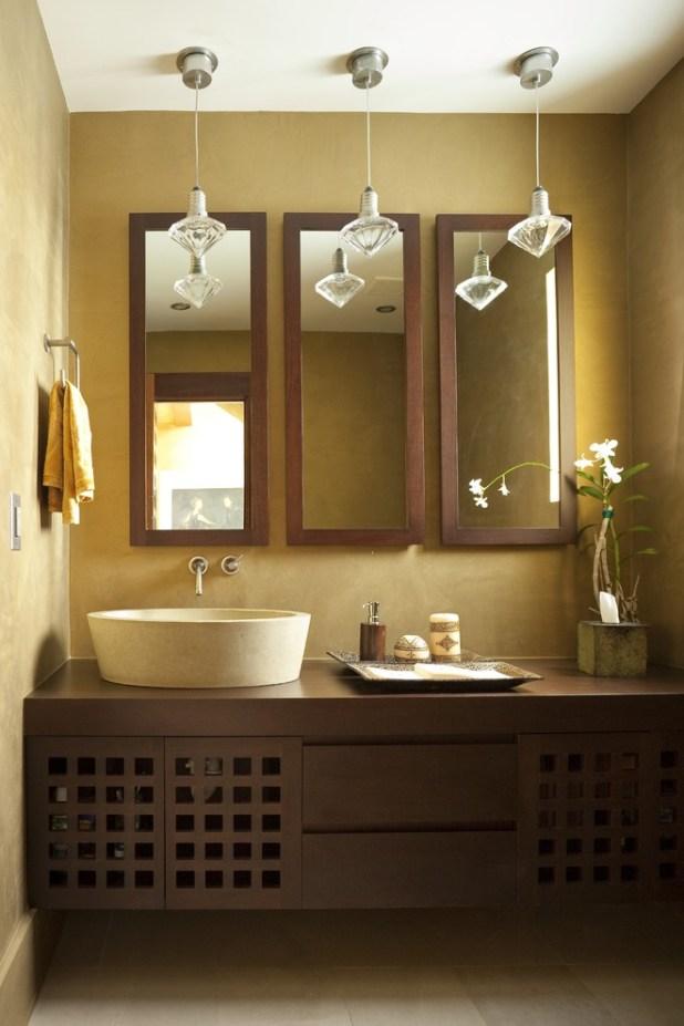 Multiple-Mirrors2 27+ Trendy Bathroom Mirror Designs of 2017