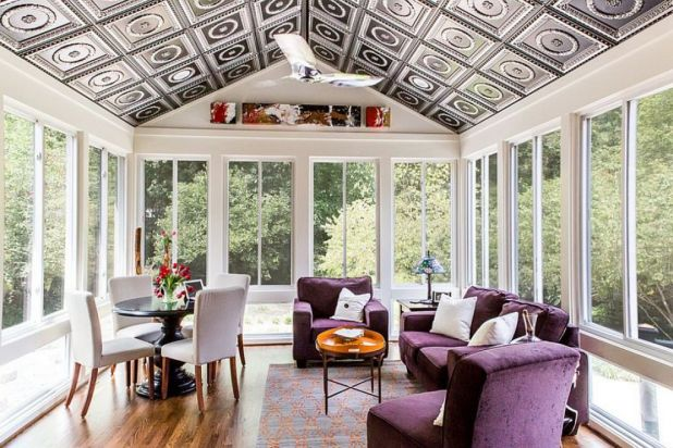 Patterned-Ceiling2 7 Ceilings Design Ideas For 2017