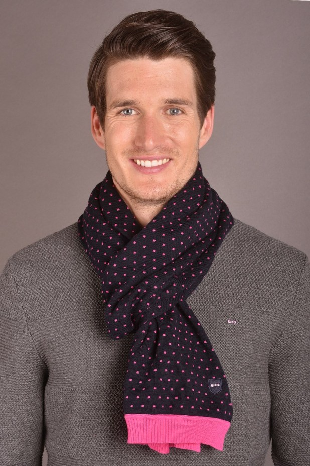 Polka-Dot-Cashmere-Scarf1 22 Scarf Trend Forecast for Fall & Winter 2017