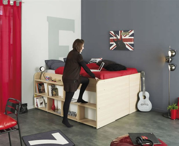 built-up-drawers-675x553 7 Design Ideas for Teens' Bedrooms