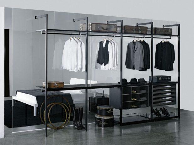 transparent-glass-wardrobe4-675x506 6 Brilliant Designs of Bedroom Wardrobes