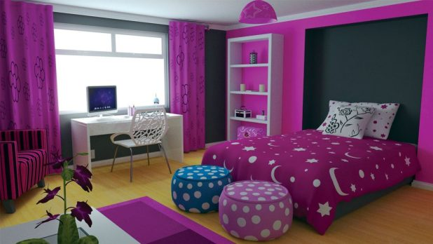 A-Corner-For-Assignments5 Top 5 Girls' Bedroom Decoration Ideas in 2017