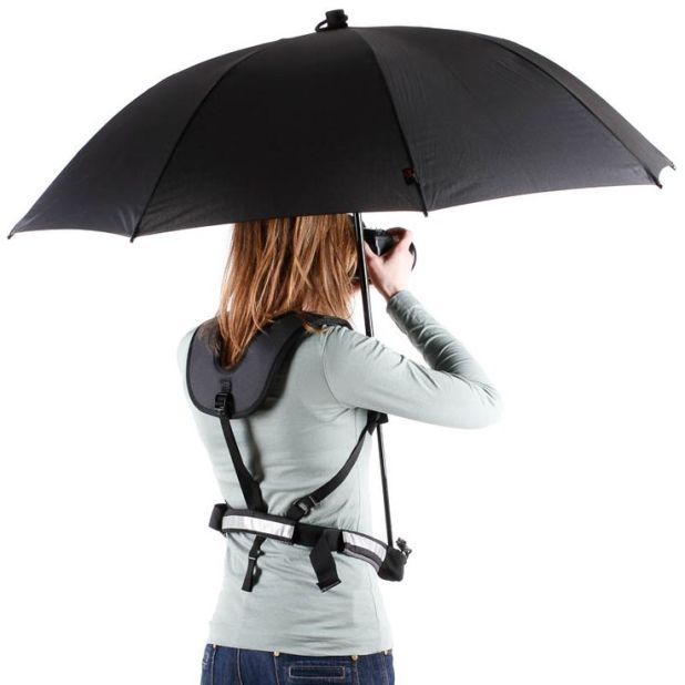 Backpack-Umbrella 15 Unusual Designs For Umbrellas
