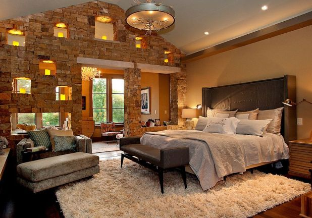 Classic-and-contemporary-styles-rolled-into-one-in-the-bedroom-675x472 25+ Orange Bedroom Decor and Design Ideas for 2017