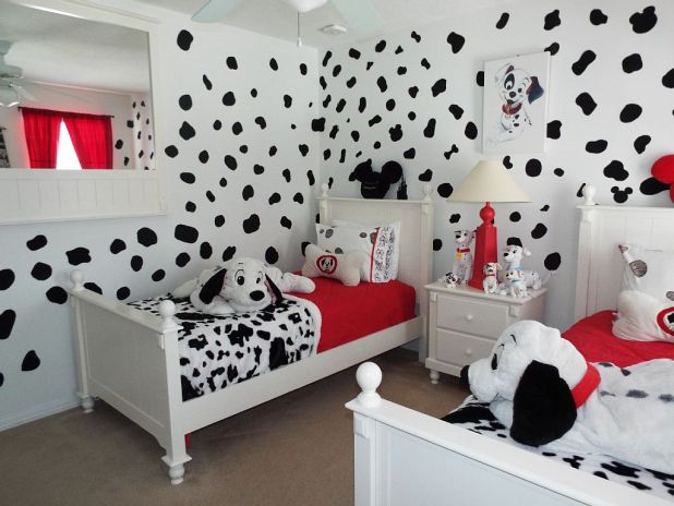 Dalmatian-Theme2 Top 5 Girls' Bedroom Decoration Ideas in 2017