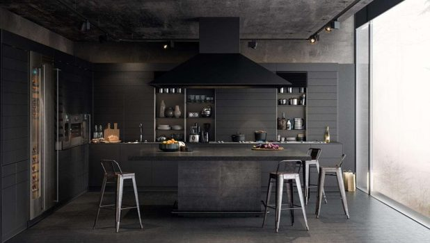 Make-It-Black2 5 Kitchens' Decorations Ideas For 2017