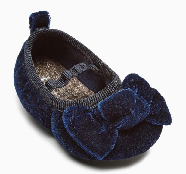Next-Navy-Bram-ballet-shoes-675x630 20+ Adorable Baby Girls Shoes Fashion for 2017