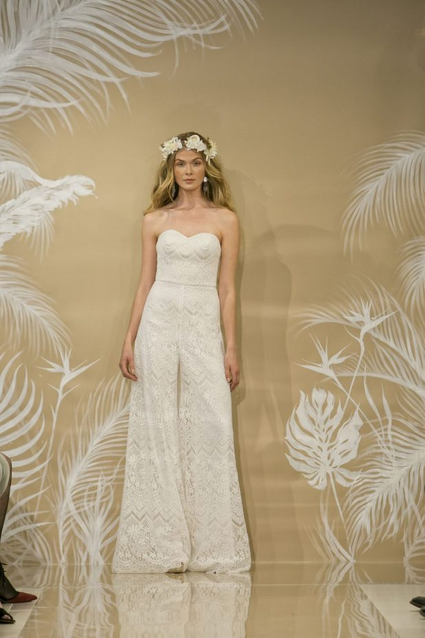 Theia-wedding-jumpsuit-675x1013 2017 Wedding dresses Trends for a Gorgeous-looking Bride
