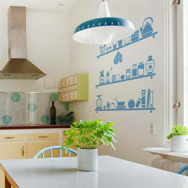 fresh-plants5 5 Kitchens' Decorations Ideas For 2017
