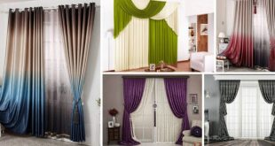 Easy And Creative Curtains Designs To DIY