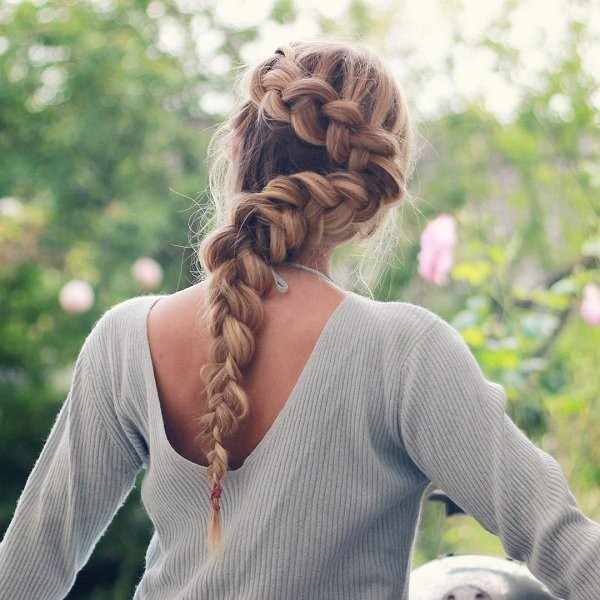 French-and-Dutch-braids-17 28 Hottest Spring & Summer Hairstyles for Women 2017