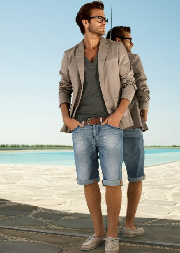 Shirt-with-Bermuda3-675x945 10 Most Stylish Outfits for Guys in Summer 2017