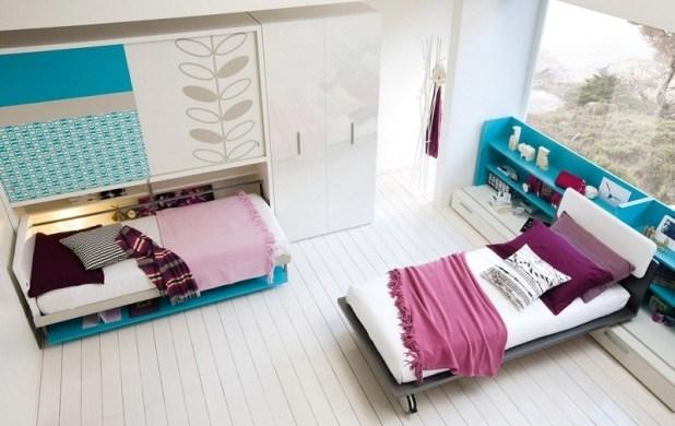 Space-Saving-beds 83 Creative & Smart Space-Saving Furniture Design Ideas in 2017