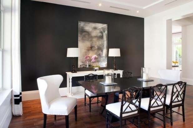 charcoal-and-light-gray-10 Newest Home Color Trends for Interior Design in 2017