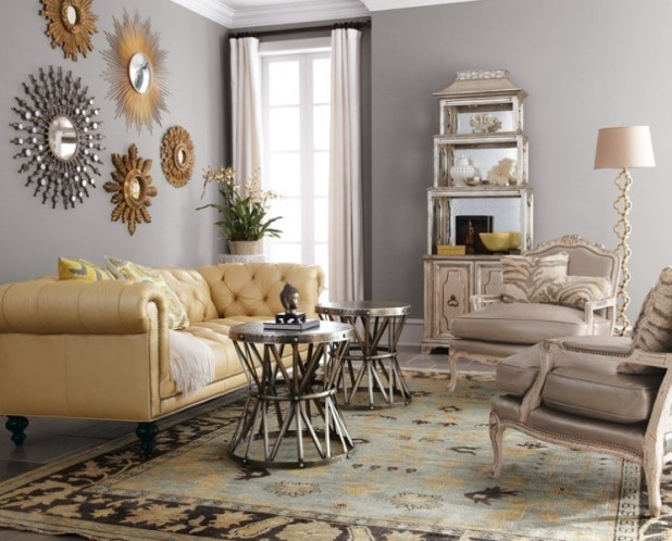 charcoal-and-light-gray-8 Newest Home Color Trends for Interior Design in 2017