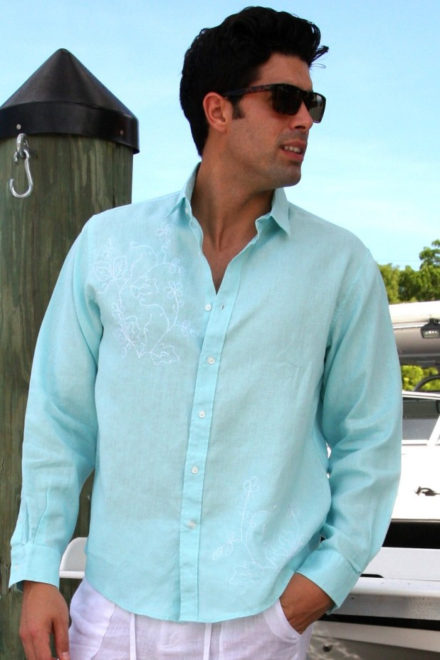 colorful-linen-shirt2-675x1013 10 Most Stylish Outfits for Guys in Summer 2017