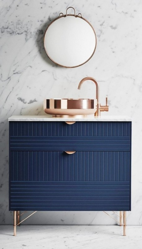 different-shades-of-blue Newest Home Color Trends for Interior Design in 2017