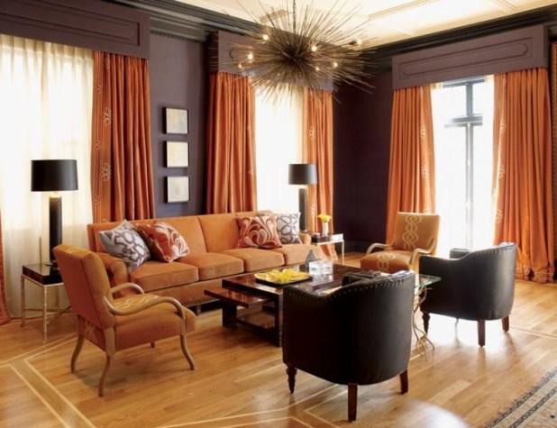 orange-8 Newest Home Color Trends for Interior Design in 2017