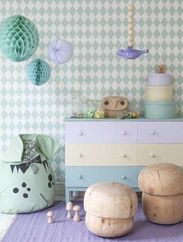 pastel-colors-11 Newest Home Color Trends for Interior Design in 2017