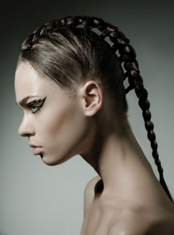 crazy and weird hairstyles