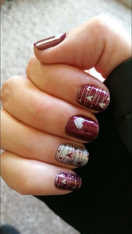Valentines-Day-Nails-2017-2 50+ Lovely Valentine's Day Nail Art Ideas 2017