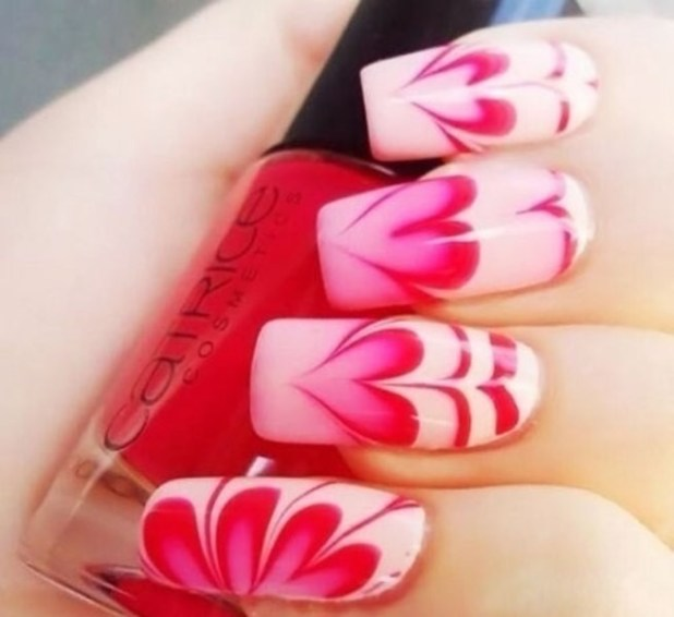 Valentines-Day-Nails-2017-93 50+ Lovely Valentine's Day Nail Art Ideas 2017