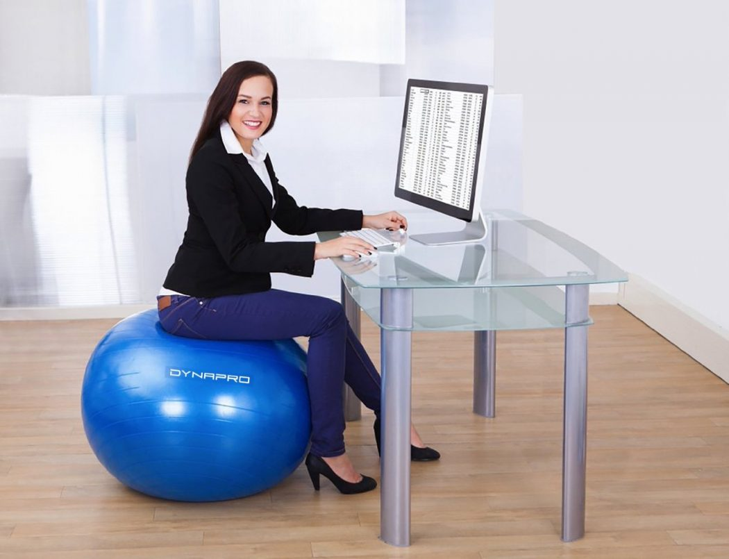 Benefits of using Yoga Ball Chair for your Home or Office