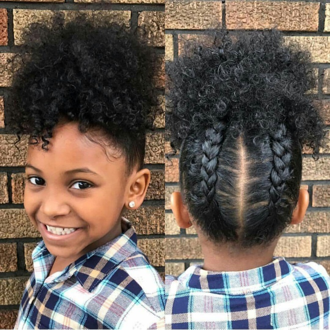 Top 10 Cutest Hairstyles For Black Girls In 2020 Pouted