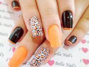 fabulous winter nail design