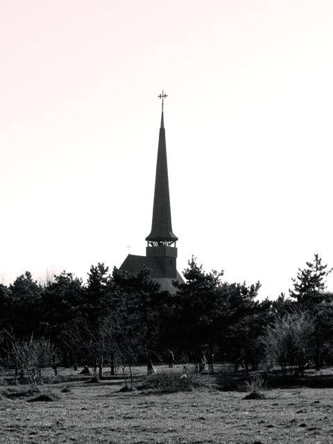 Wood Church from Titan (IOR) Park