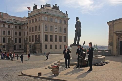 Prague street orchestra