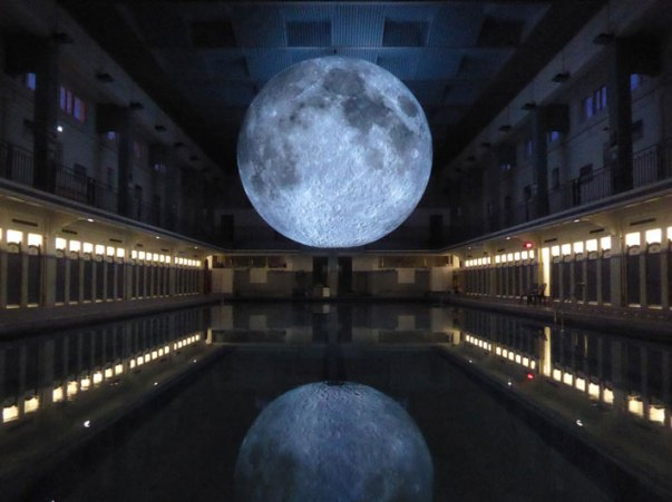 Museum of the Moon – Follow the Mesmerizing Floating Moon all over the World!