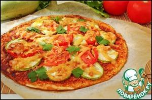 Obtén la receta: Pizza Primavera