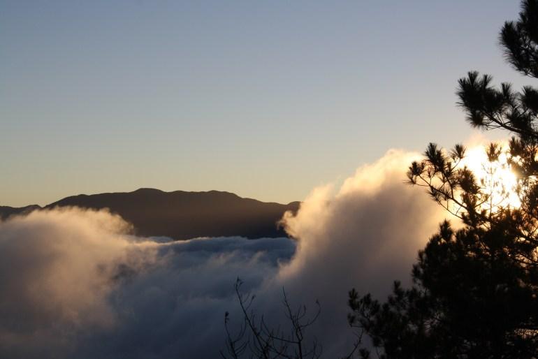 Východ slnka na Mt. Kitepan