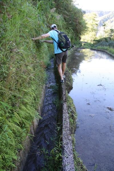 Trek cez ryžové terasy v Banaue