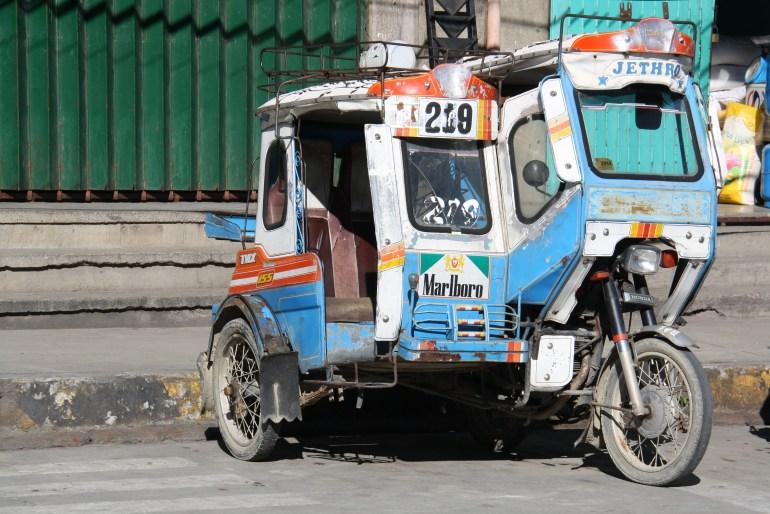 Populárne prevážadlo - Tricycle