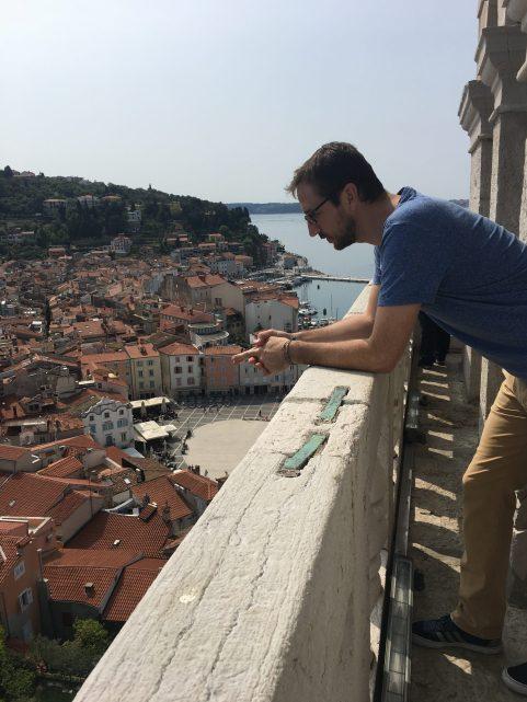 Piran - výhľad zo zvonice