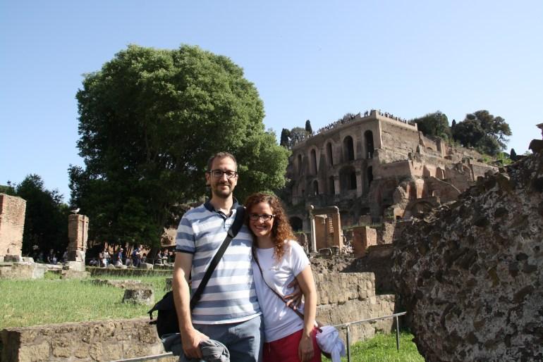 Foro Romano - bývalé centrum Rímskej ríše nám učarovalo. História na vás dýcha pri každom kroku.
