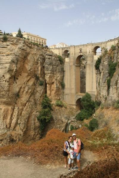 Puente Nuevo, Ronda, Španielsko